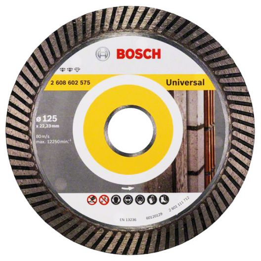 Диск алмазный Bosch  Expert for Universal Turbo 125 x 22,23 x 2,2 x 12 универсальный (1/1)_Z