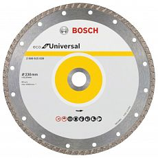 Диск алмазный Bosch ECO Universal Turbo 230х22.23 мм (1/1)