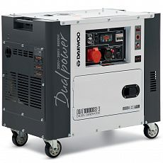Генератор дизельный Daewoo Power Products DDAE 10000DSE-3 7,2кВт/156/15л/эл.старт/4-х тактный_Z